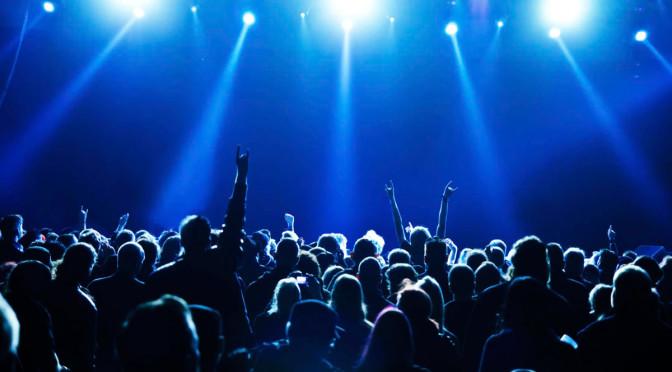 El éxtasis de los conciertos comienza por la vista
