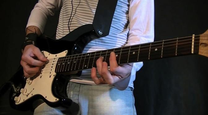La curvatura y radio del mástil de la guitarra