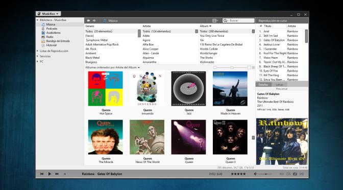Organizando tu playlist