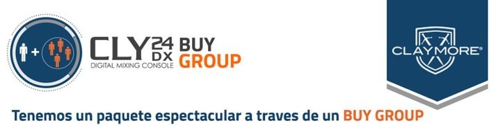 Adquiere tu mezcladora CLY24DX de CLAYMORE por BUY GROUP