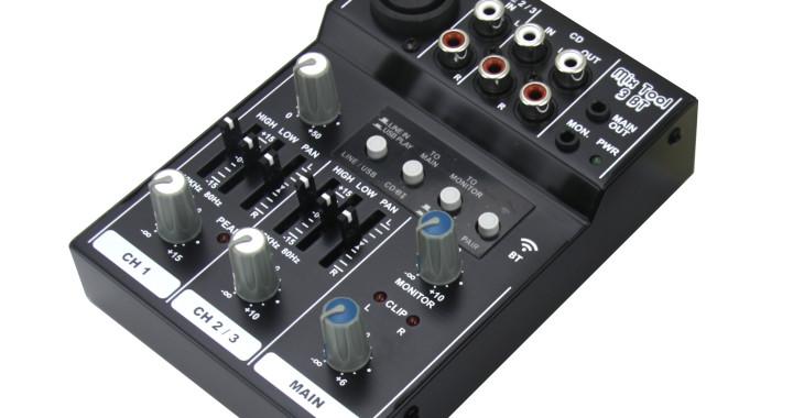 Backstage® presenta la nueva Mix Tool 3 BT, la mezcladora más compacta y portátil